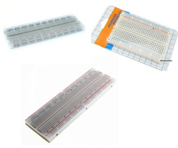 1pcs MB-102 MB102 Breadboard 830Point 400 hole Solderless Test Develop DIY Experiment PCB circuit board image