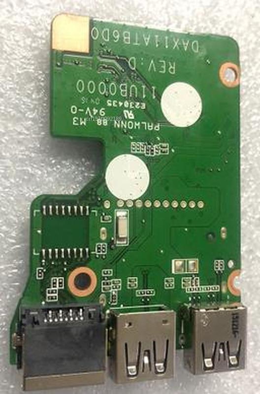 For HP 15-AN 15-AN050nr Original Laptop USB Board NIC Interface Board DAX11ATB6D0 33X11UB0000 Free Shipping