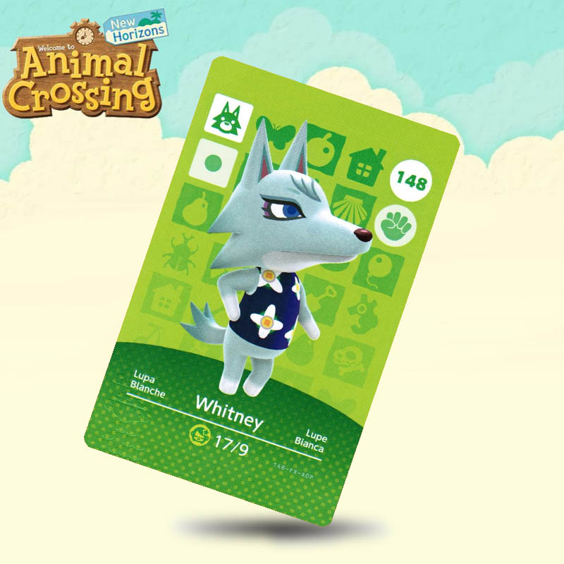 148 Whitney Animal Crossing Card Amiibo Cards Work For Switch NS 3DS Games