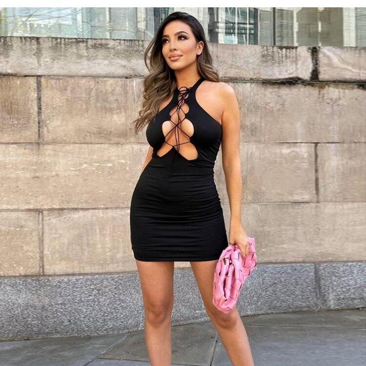 Mini robe moulante sexy