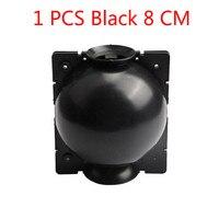 1 PCS Black 8cm