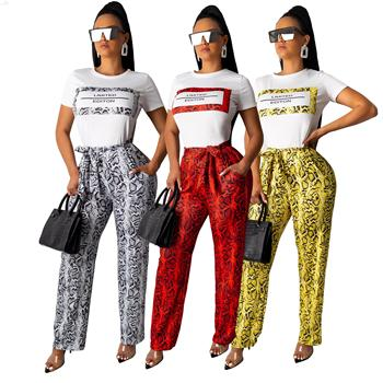 Sexy Leopard Print Wide Leg Pants Women With Belt 3 Color Fashion Loose Casual Korean Pants Autumn Colorful Elegant Flare Pants фото