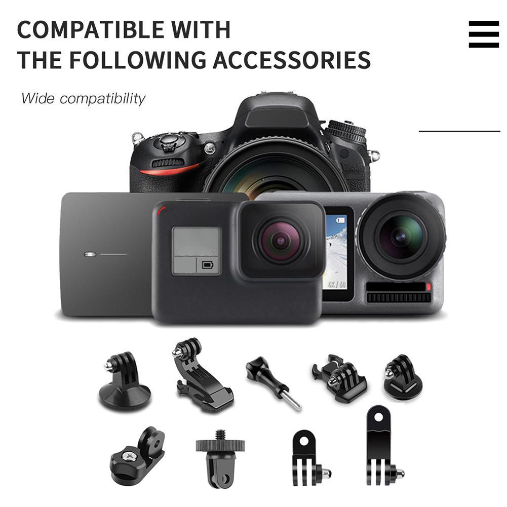 Ny bærbar Bluetooth 5.0 selfie stick fjernkontroll stativ - Kamera og bilde - Bilde 3