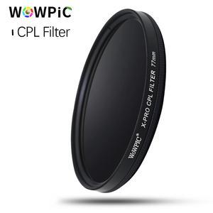 Image 2 - WOWPIC 82mm X PRO CPL filtre PL CIR polarisant multi revêtement filtre pour DLSR 82mm objectif pour Nikon Canon Pentax Sony DSLR appareil photo