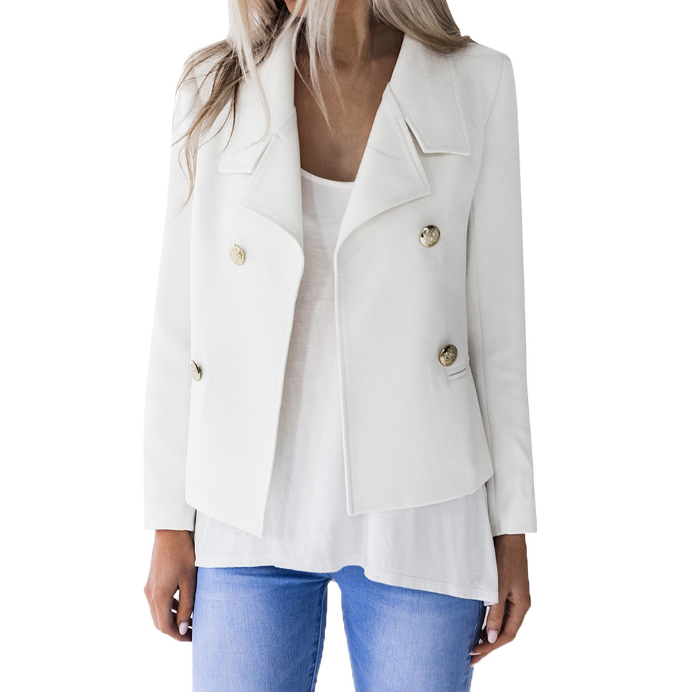 SAGACE 2020 autumn Ladies Solid Color Long Sleeve Small Blazer casual All-match Chic women suit Elegant female  high quality