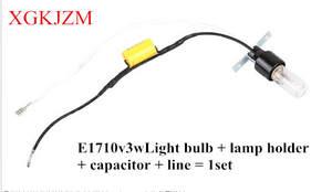 Lamp-Holder Germicidal-Lamp Uv-Lamp 110V E1710v3wlight-Bulb 52mm Disinfection-Lamp-Bulb