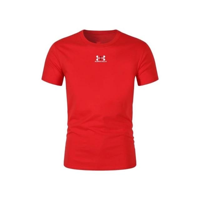 2021 Summer Brand Printed T-shirt Men Casual Men's T-shirt Multicolor Sleeve Casual T-shirt Top Standard Size XS-2XL 6