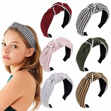 Fashion Breathable Headband Elastic Hairband Hair Accessories for Girls Knotted Head Band Hoop for Hair Headbands for Women все цены
