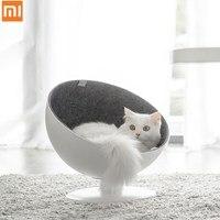 Xiaomi Mijia kot szefem gniazdo dla kota obrotowy interaktywne legowisko dla kota podszewka z włókna proste i piękne wygodne gniazdo dla kota szefem w Elektryczne szczoteczki do zębów od AGD na