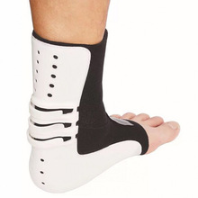 Ankle Fixing Strap Foot Pronator Protective Set Sprain Support Brace Guard Left Rehabilitation Care White