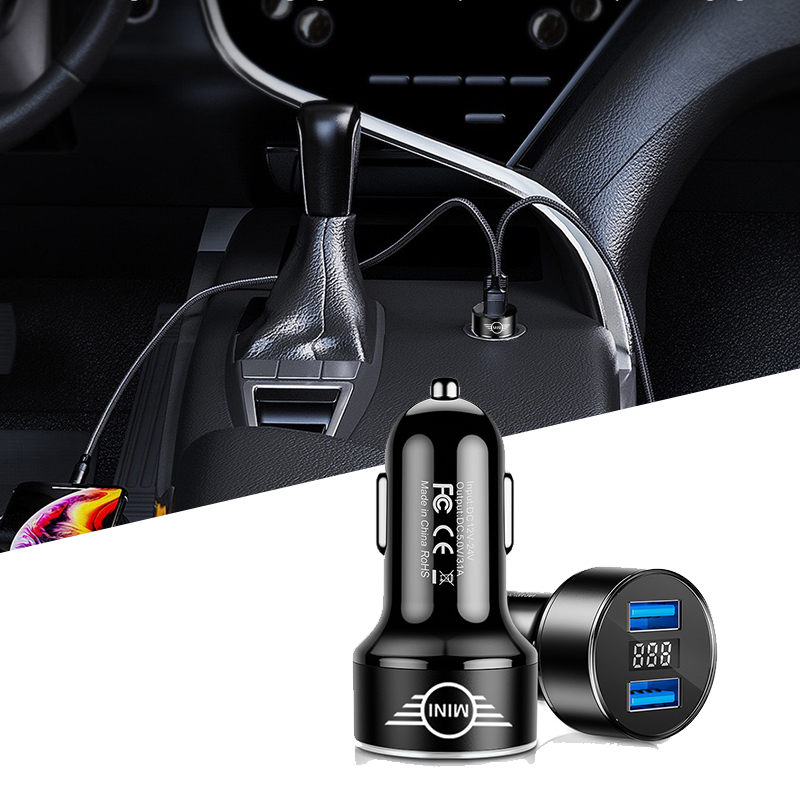 Charge 4.0 3.0 <font><b>USB</b></font> Car <font><b>Charger</b></font> Auto Type C PD Fast Car Mobile Phone <font><b>Charger</b></font> for <font><b>BMW</b></font> MINI COOPER R56 R55 R60 R61 Countryman F55 image