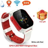 Student Smart phone watch GPS position Kids Smart watch children Bracelet waterproof anti loss tracker WristWatch SIM Card Alarm