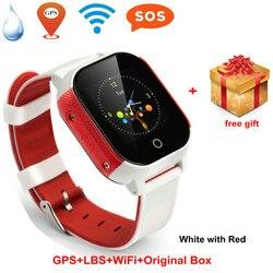 Student Smart telefoon horloge GPS positie Kids Smart horloge kinderen Armband waterdicht anti verlies tracker Horloge Sim-kaart Alarm
