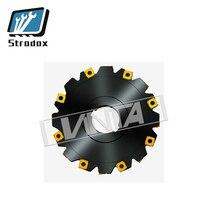 Wende CNC fräsen werkzeug hight qualität PT02 12A22 063 06 H4 H5 PT02 drei-seitige rand fräsen cutter serie legierung stahl Schneiden