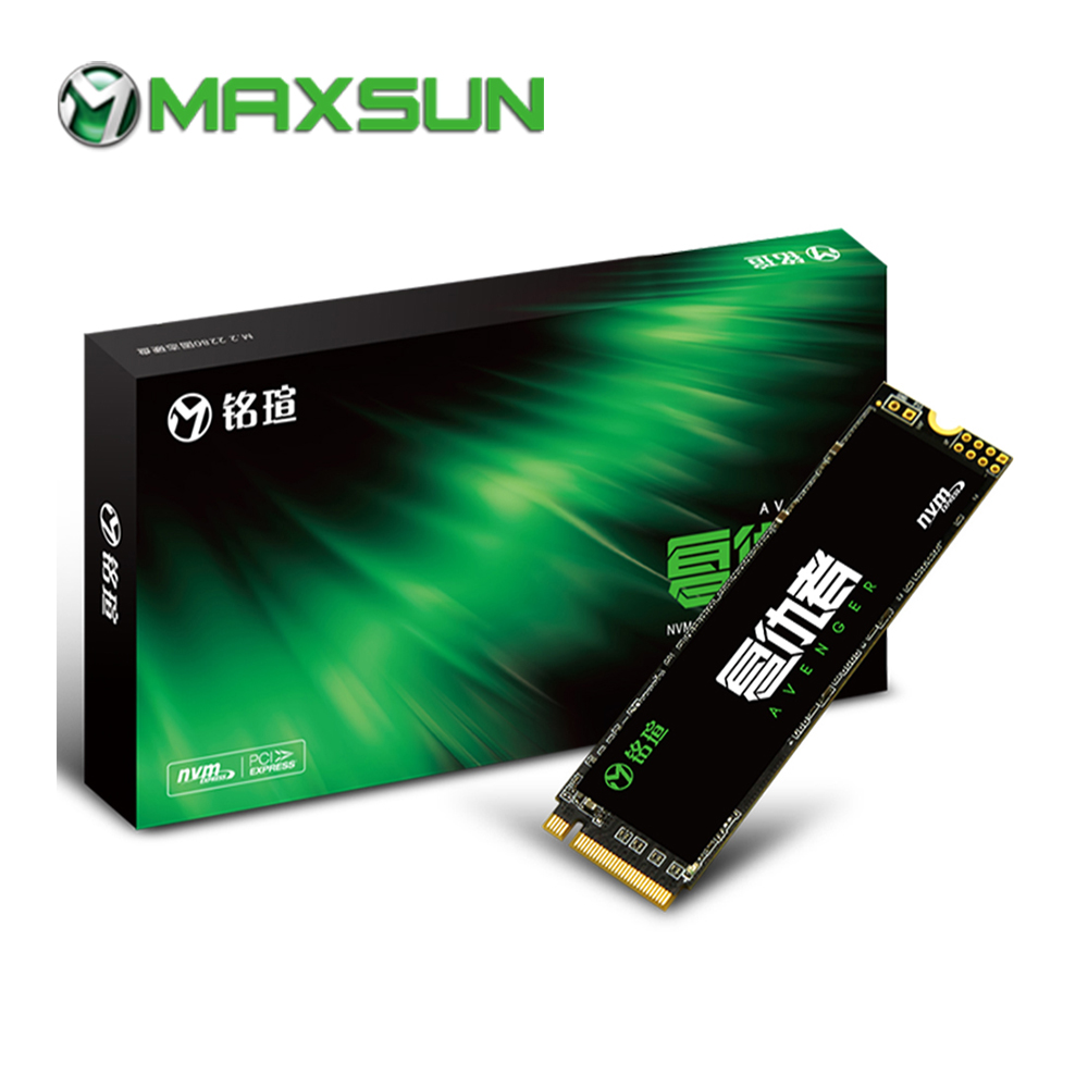 MAXSUN 2280 m.2 ssd m2 3D NAND Flash SMI 2263XT PCIe Gen3 X 4 m.2 1500MB/s three year warranty laptop desktop nvme ssd