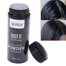 15 г/бутылка моделирование Стайлинг удалить освежающее масло порошок для волос тонкие волосы порошок увеличивает объем волос унисекс