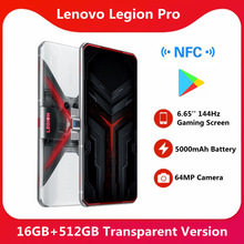 Lenovo Snapdragon 865 Plus Legion Pro-16gb 512GB NFC Supercharge Octa Core Face Recognition