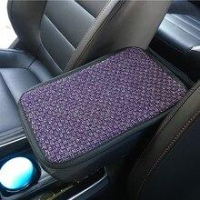 Set Arm-Rest-Covers Car-Accessories Interior Universal Pad Mat Linen Anti-Slip-Armrest