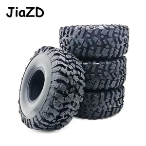 Image 3 - 4PCS 120MM 1.9INCH Rubber Rocks Tyres Wheel Tires for 1:10 RC Rock Crawler Axial SCX10 90047 D90 D110 TF2 For TRX 4 W121