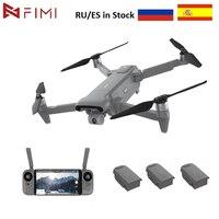 FIMI-Dron X8SE con cámara 4K, cuadricóptero de control remoto con vídeo, GPS, 35 minutos de tiempo de vuelo, 8KM, FPV, 3 ejes, versión gris 2020