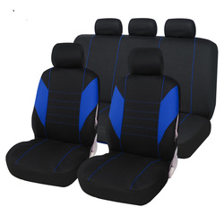Pełne pokrycie włókna lnianego pokrycie siedzenia samochodu pokrowce na siedzenia samochodowe dla SUBARU brz wrx legacy forester xv outback w Pokrowce samochodowe od Samochody i motocykle na