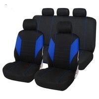 Pełne pokrycie włókna lnianego pokrycie siedzenia samochodu pokrowce na siedzenia samochodowe dla Toyota 4 RUNNER 86 ALPHARD ALTIS AVALON CAMRY CELICA CH R COROLLA w Pokrowce samochodowe od Samochody i motocykle na