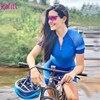 Kafitsummer nova camisa de ciclismo de manga curta terno de uma peça terno profissional feminino triathlon bicicleta de montanha macaquinho 18