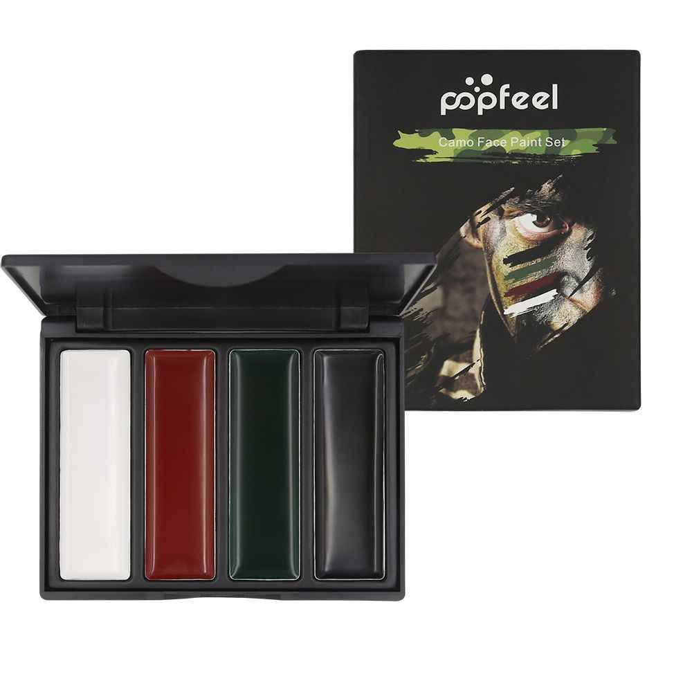 Popfell Body Paint Lives Cs Camo Camouflage Oil Face Paint Blusher Army Fan Outdoor Rouge Drama Oil Body Art Aliexpress
