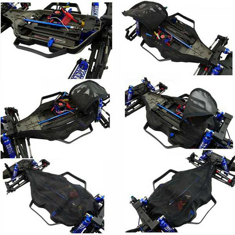 Protective Chassis Dust Resist Guard Cover for Traxxas X-MAXX XMAXX 77076-4 Rc Parts
