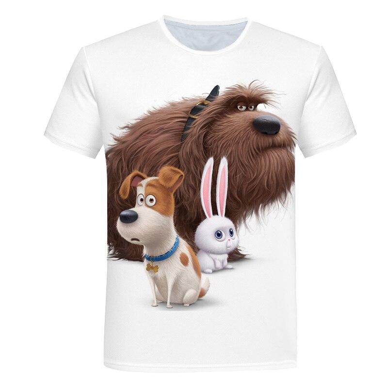 Children Animal-Printed Unisex Tshirts