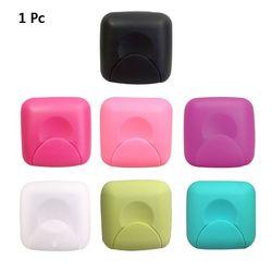 Пластиковая женская коробка для хранения тампона портативный чехол-держатель для мыла для путешествий на открытом воздухе