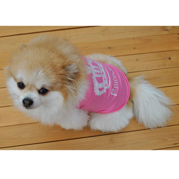 Pet Dog Clothes Girl Dog Shirts Puppy Summer T Shirt for Small Dogs image