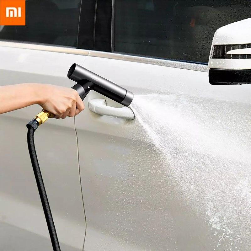 Xiaomi Water Spray Gun Wash Spray Machine High Pressure Washer Lawn Washing High Quality Water Gun Sprinkle Tools For Car Smart Remote Control  - AliExpress
