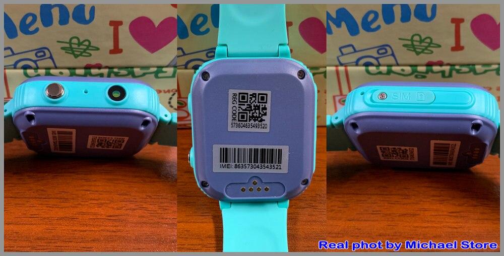 H645002ccb910427d8fb38f2b85823e11K LT21 4G Smart Watch Kids GPS WIFI Video Call SOS IP67 Waterproof Child Smartwatch Camera Monitor Tracker Location Phone Watch