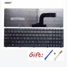 Новая русская клавиатура для ноутбука ASUS K53 X55A X52F X52D X52DR X52DY X52J X52JB X52JR X55 X55C X55U K73B NJ2 RU, Черная