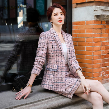 Womens Fashion Formal Skirt-Suit