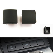 Car Styling Middle+Side Fake Cover Button dummy Console False dust proof Decorative Switch For VW Golf MK6 Jetta 5 MK5 6