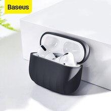 Baseus — Étui AirPods 3 Pro en silicone antidérapant, boîtier pour écouteurs sans fil Bluetooth Apple