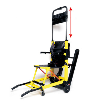Up and down stairs electric wheelchair climbing car