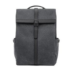 Image 2 - NINETYGO 90FUN Grinder Oxford Casual Backpack 15.6 inch Laptop Bag British Style Bagpack for Men Women School Boys Girls
