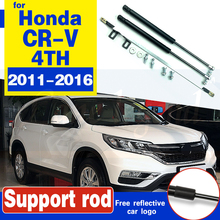 Rod Hood CR-V Lift Gas-Shock for Honda 4TH Car-Bonnet Supporting-Strut-Bars-Support Styling