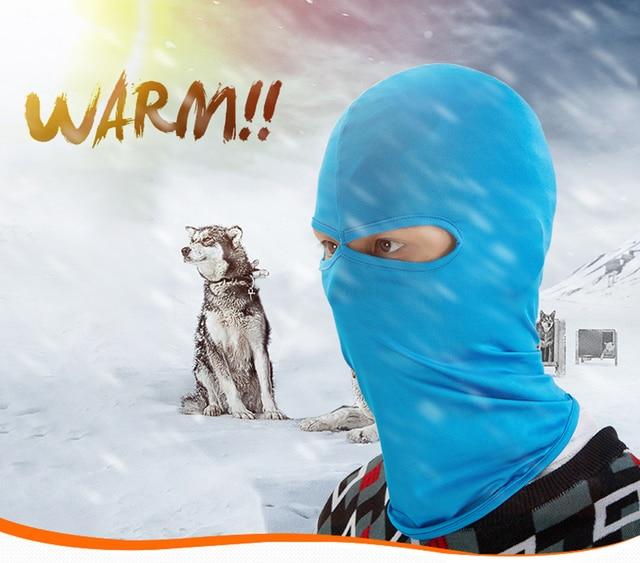 Motorcycle face mask Fleece Balaclava Winter for Sotocascos Moto Wind Mask Cagoule Ski Motor Maske Windproof Mask 1