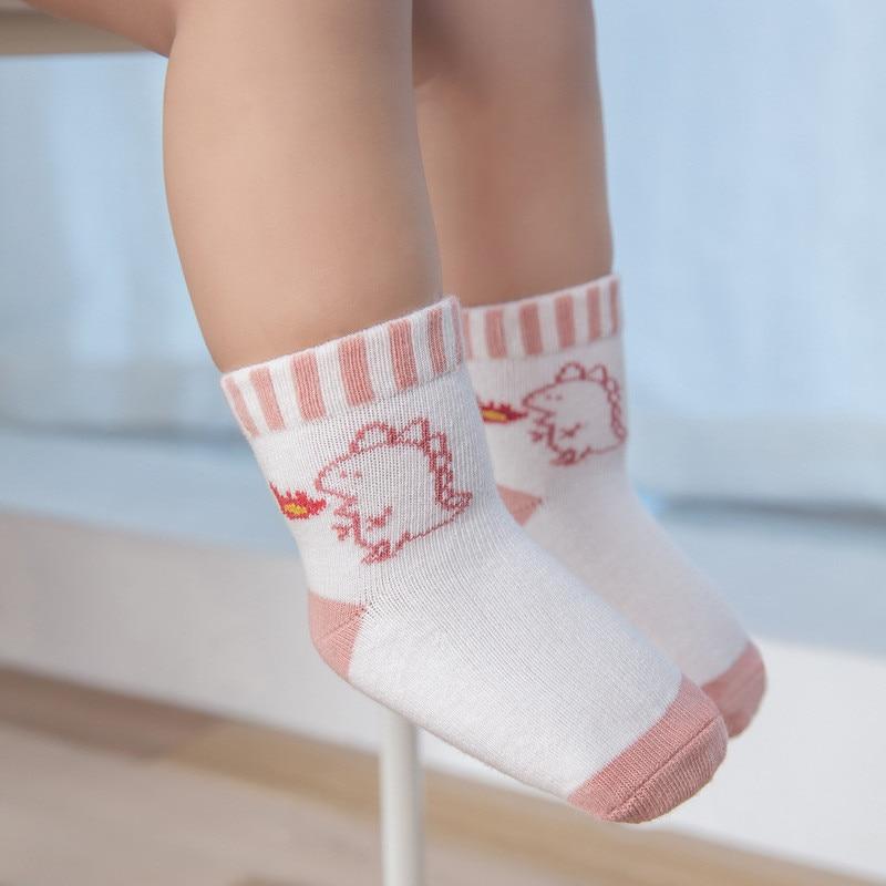 10Pairs/Lot Baby Boys Socks Spring Autumn Cotton Newborn Baby Girls Socks Fashion Casual Kids Socks for Children Age for 1-12Y 4