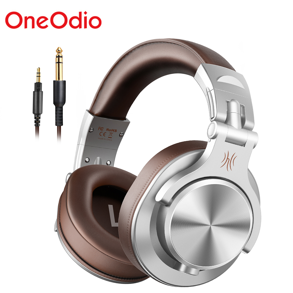 Oneodio A71 Professional DJ Headphones Portable Adjustable Wired Headset Music Share Lock Headphone For Recording Monitor|Headphone/Headset|   - AliExpress