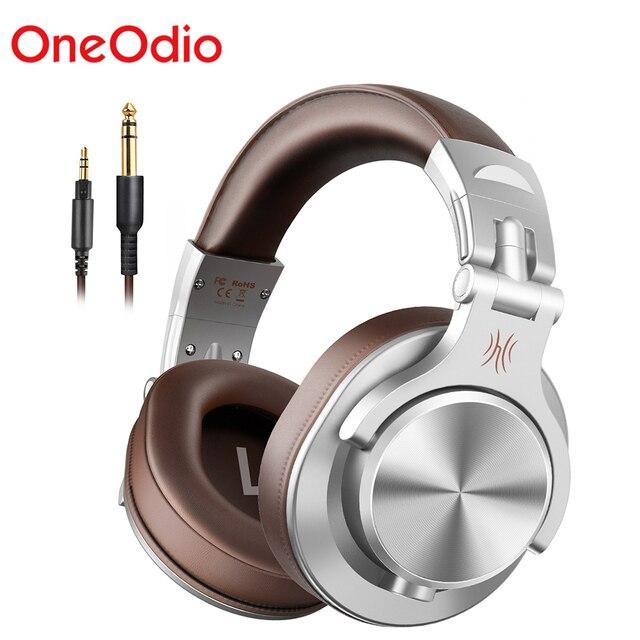 Oneodio A71 Professionelle DJ Kopfhörer Tragbare Verstellbare Wired Headset Musik Teilen Lock Kopfhörer Für Aufnahme Monitor