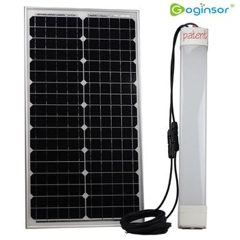 NEW 20W Solar Led Tri-Proof Light Solar LED Tube light Waterproof IP65 solar batten light outdoor 1