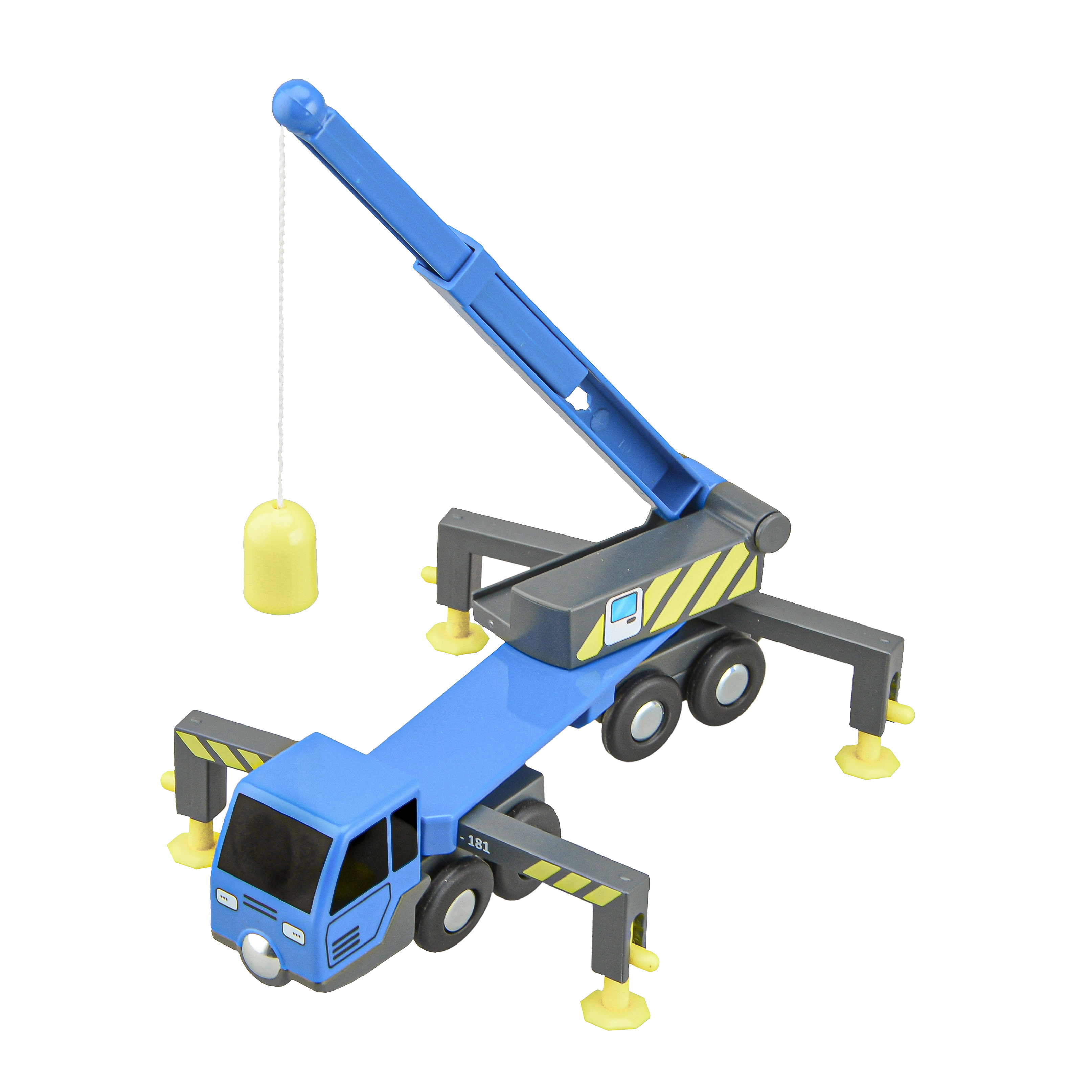 Multifunctional Train Toy Set Accessories Crane Truck Toy Vheicles Compatible With Wooden Tracks Railway