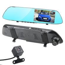 LEEPEE Fahren Recorder Video Umkehrung Bild IPS Bildschirm Nachtsicht Auto DVR Dash Kamera Dual Kanal Rückspiegel Recorder