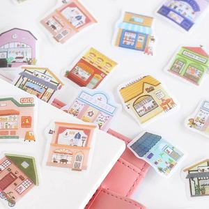 Image 4 - 20set/lot Kawaii Stationery Stickers Picture book life Decorative Mobile Stickers Scrapbooking DIY Japanese Craft Stickers