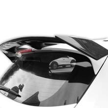 Для Honda Vezel HRV FRP материал+ углеродное волокно Неокрашенный задний спойлер крыло крышка багажника автомобиля Стайлинг